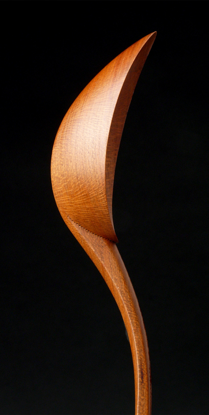 Zina's spoon detail - photo by T. Shaw